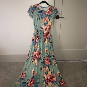 Super Soft Maxi Dress With Pockets